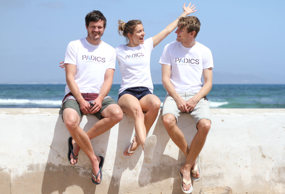 Die Padics Crew auf Fuerteventura